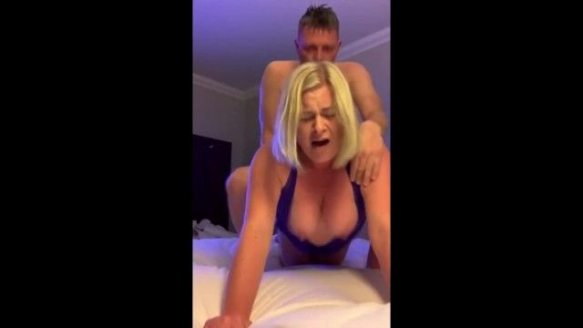 Breasty golden-haired cumming truly hard jointly