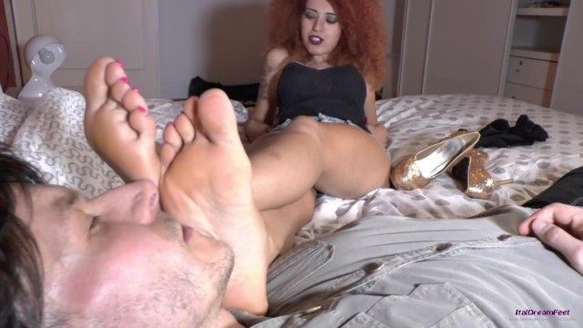 Lady demonique - italian goddess foot - supplementary night opportunity top movie