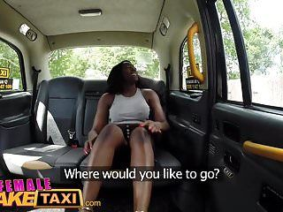 Female fake taxi breasty african stripper craves vagina licked