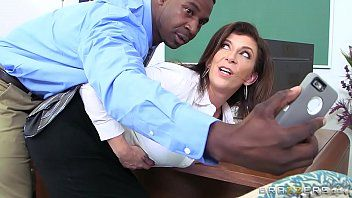Brazzers - sara jay - large breasts at school